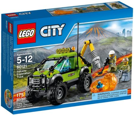 LEGO 60121 VOLCANO EXPLORATION TRUCK CITY