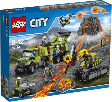 LEGO 60124 VOLCANO EXPLORATION BASE CITY