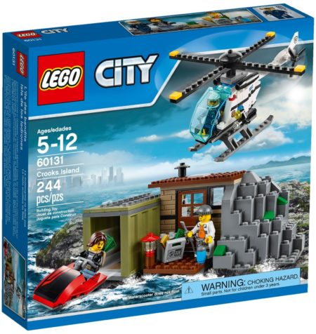 LEGO 60131 CROOKS ISLAND CITY
