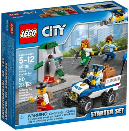 LEGO 60136 POLICE STARTER SET CITY