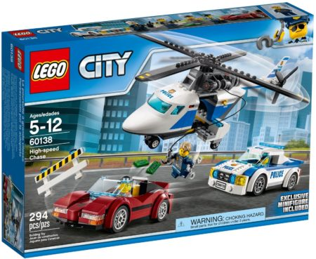LEGO 60138 HIGH SPEED CHASE CITY