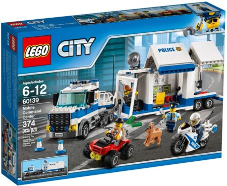 LEGO 60139 MOBILE COMMAND CENTRE CITY