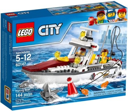 LEGO 60147 FISHING BOAT CITY