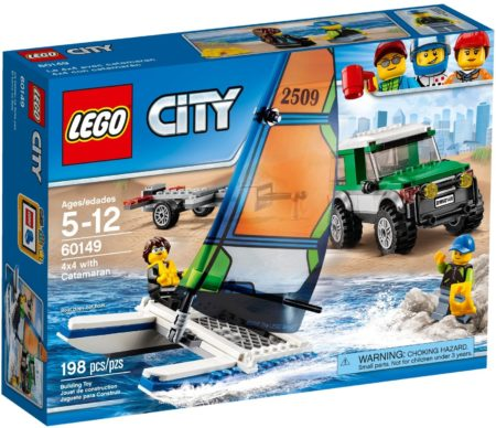 LEGO 60149 4X4 WITH CATAMARAN CITY