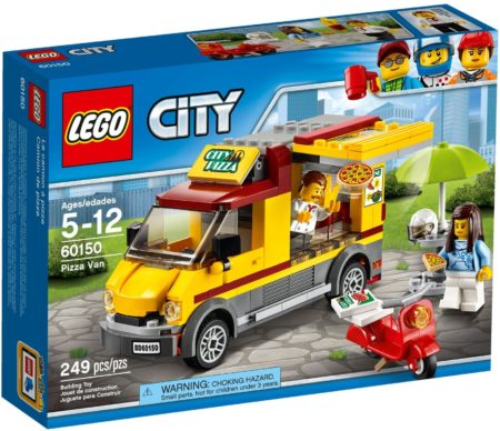 LEGO 60150 PIZZA VAN CITY