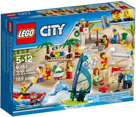 LEGO 60153 FUN AT THE BEACH PEOPLE PACK CITY