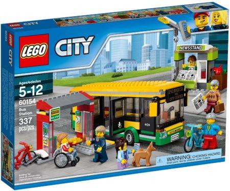 LEGO 60154 BUS STATION CITY