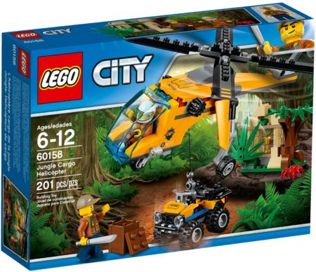LEGO 60158 JUNGLE CARGO HELICOPTER CITY