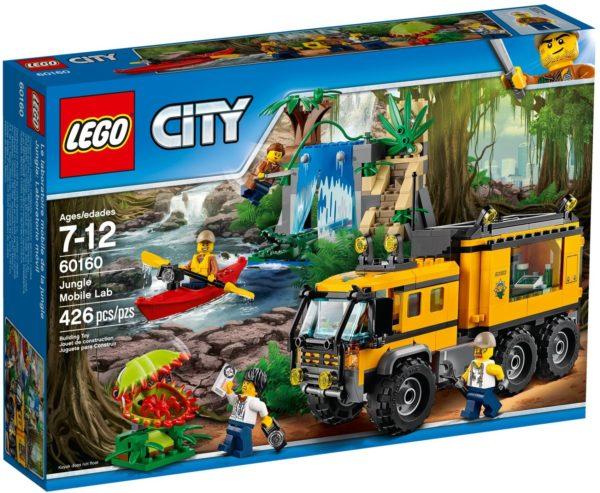 LEGO 60160 JUNGLE MOBILE LAB CITY