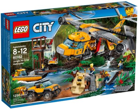 LEGO 60162 JUNGLE AIR DROP HELICOPTE CITY