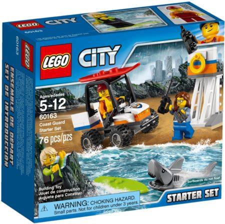 LEGO 60163 COAST GUARD STARTER SET CITY