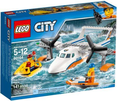 LEGO 60164 SEA RESCUE PLANE CITY