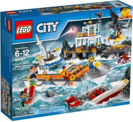 LEGO 60167 COAST GUARD HEAD QUARTERS CITY