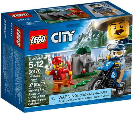 LEGO 60170 OFF ROAD CHASE CITY