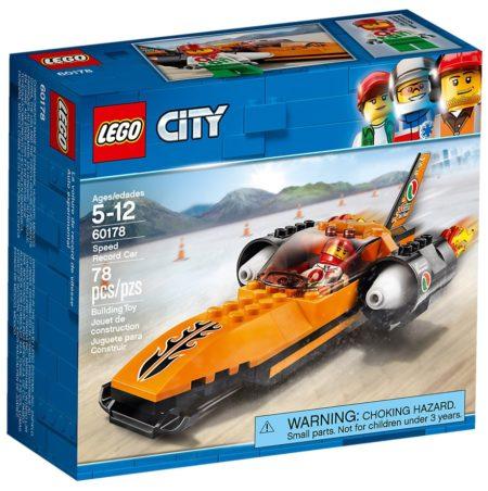 LEGO 60178 SPEED RECORD CAR CITY