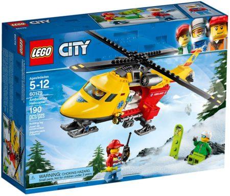 LEGO 60179 AMBULANCE HELICOPTER CITY