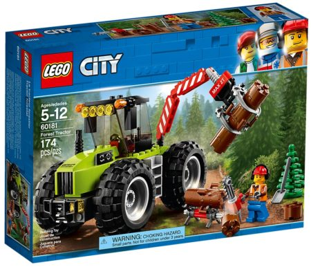 LEGO 60181 FOREST TRACTOR CITY