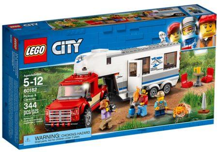 LEGO 60182 PICKUP & CARAVAN CITY