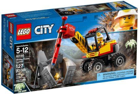 LEGO 60185 MINING POWER SPLITTER CITY