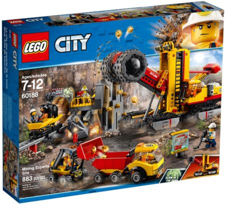 LEGO 60188 MINING EXPERTS SITE CITY