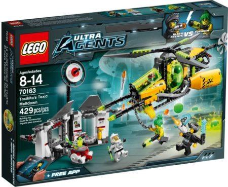 LEGO 70163 TOXIKITA'S TOXIC MELTDOWN ULTRA AGENTS