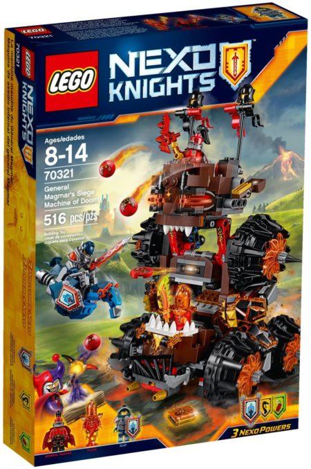 LEGO 70321 GENERAL MAGMAR'S SIEGE MACHINE OF DOOM NEXO KNIGHTS
