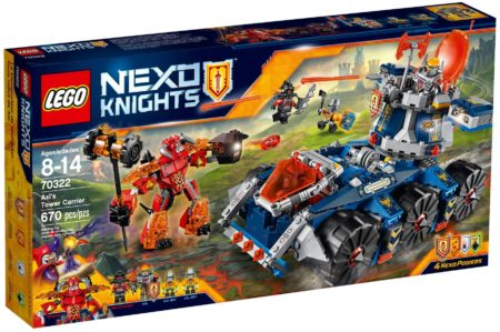 LEGO 70322 AXL'S TOWER CARRIER NEXO KNIGHTS
