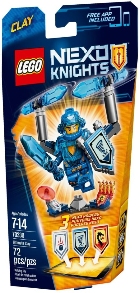 LEGO 70330 ULTIMATE CLAY NEXO KNIGHTS