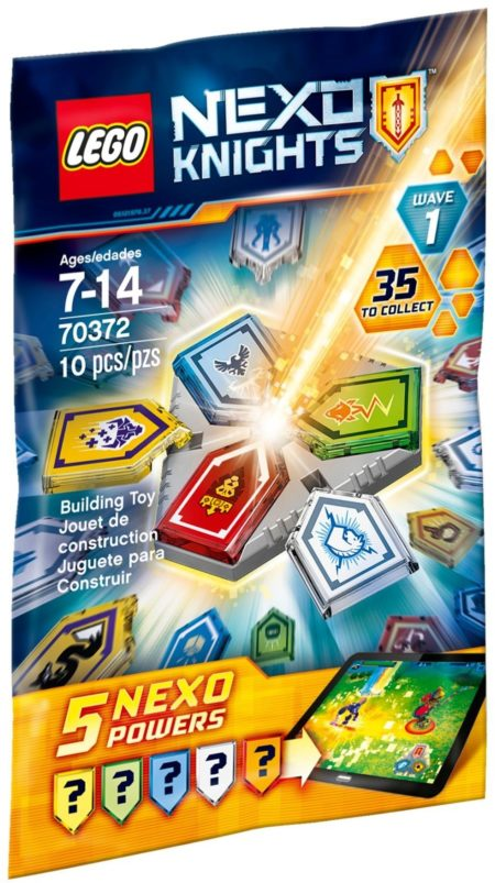 LEGO 70372 COMBO NEXO POWERS W1 NEXO KNIGHTS