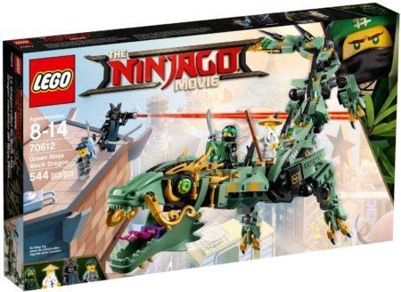 LEGO 70612 GREEN NINJA MECH DRAGON NINJAGO