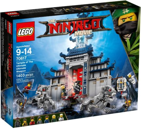 LEGO 70617 TEMPLE OF THE ULTIMATE ULTIMATE WEAPON NINJAGO