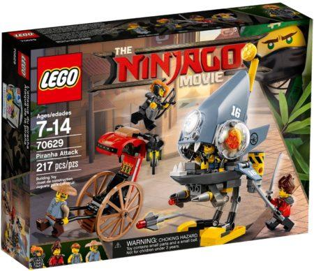 LEGO 70629 PIRANHA ATTACK NINJAGO