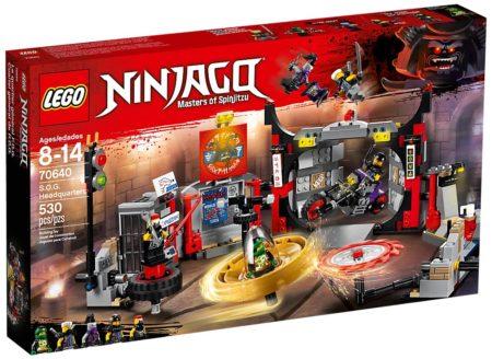 LEGO 70640 S.O.G HEADQUARTERS NINJAGO