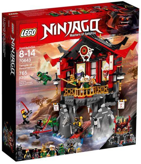 LEGO 70643 TEMPLE OF RESURRECTION NINJAGO