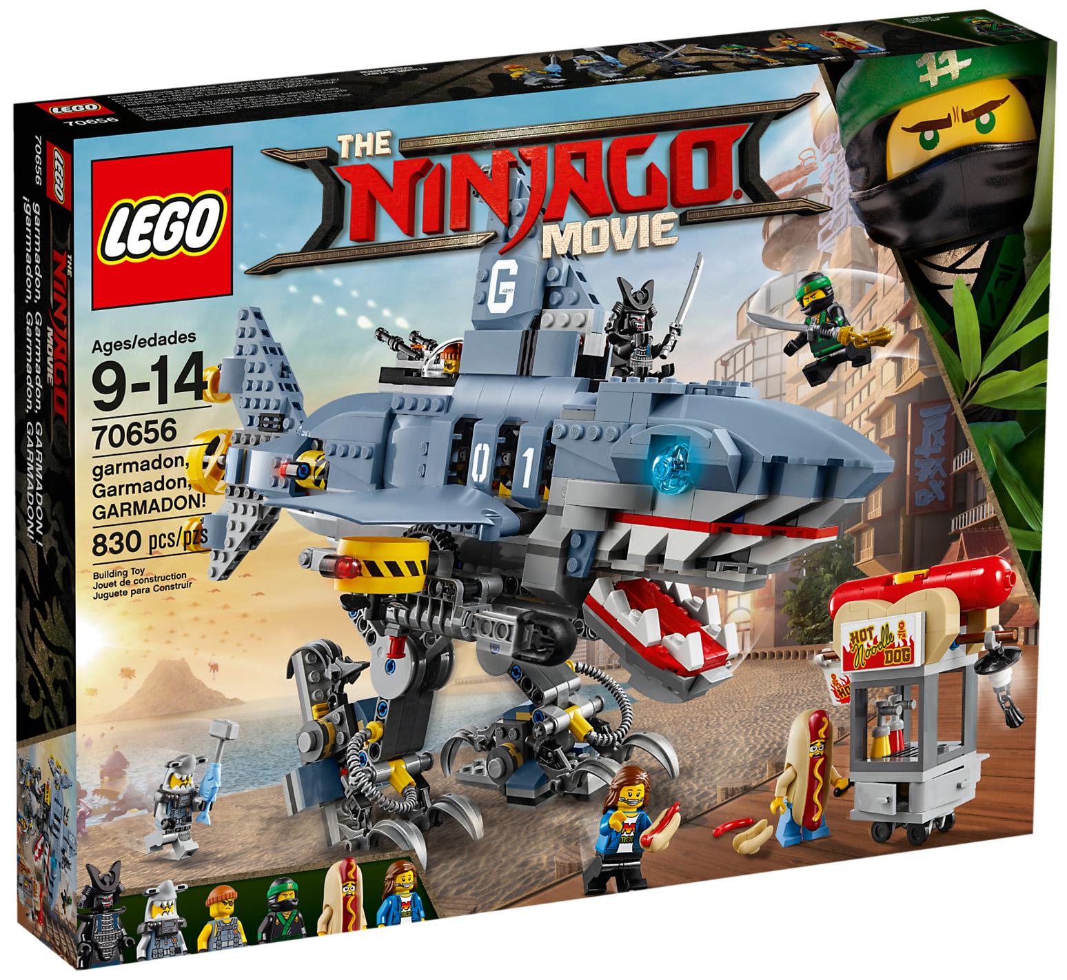 Lego 70656 Garmadon Garmadon Garmadon The Lego Ninjago Movie