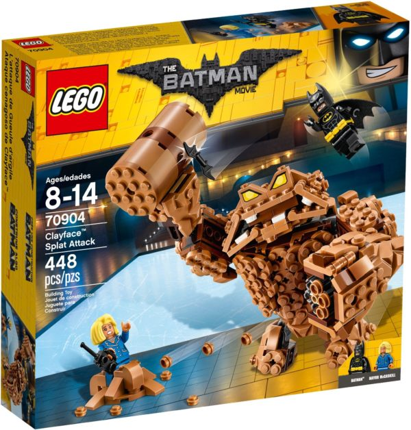 LEGO 70904 CLAYFACE SPLAT ATTACK The LEGO BATMAN Movie