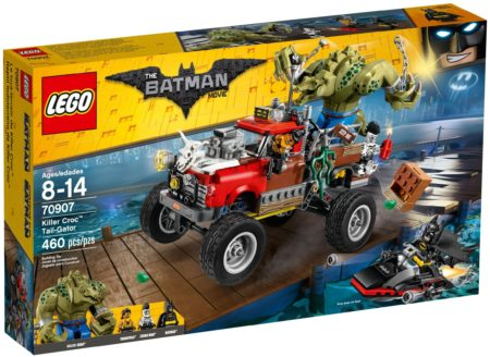 LEGO 70907 KILLER CROC TAIL-GATOR The LEGO BATMAN Movie