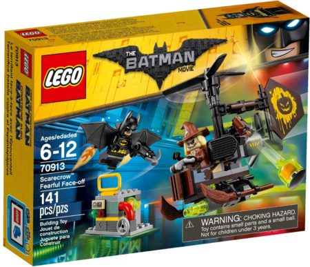 LEGO 70913 SCARECROW FEARFUL FACE-OFF The LEGO BATMAN Movie