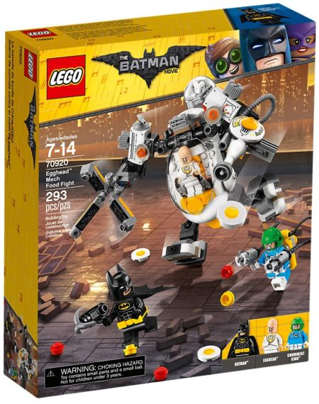 LEGO 70920 EGGHEAD MECH FOOD FIGHT The LEGO BATMAN Movie