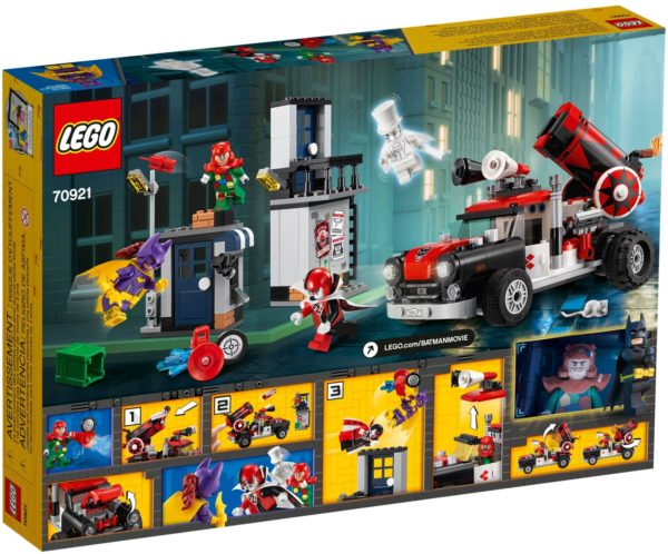 LEGO 70921 HARLEY QUINN CANNONBALL A The LEGO BATMAN Movie