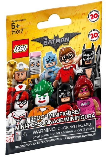 LEGO 71017 MINIFIGURES BATMAN MOVIE MINIFIGURES random bag