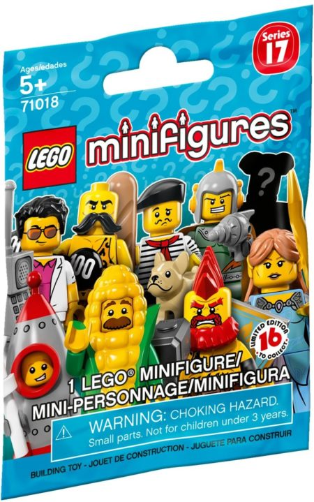 LEGO 71018 MINIFIGURES SERIES 17 RANDOM BAG