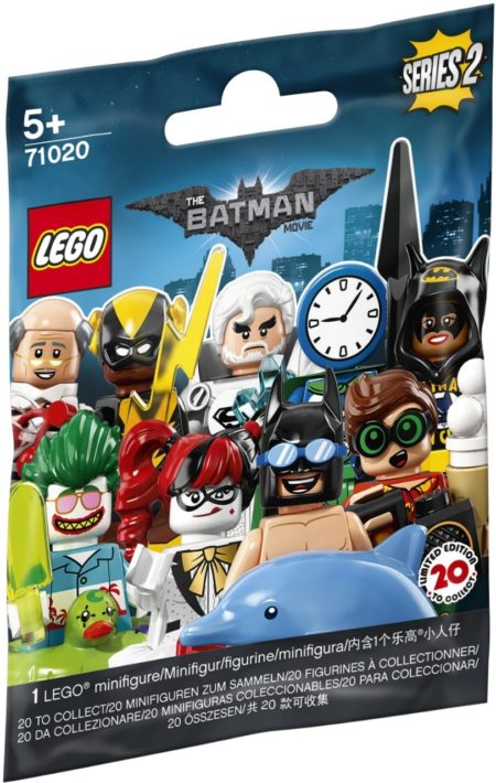 LEGO 71020 BATMAN MOVIE Series 2 RANDOM BAG MINIFIGURES