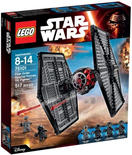 LEGO 75101 FIRST ORDER SPECIAL FORCES TIE FIGHTER STAR WARS
