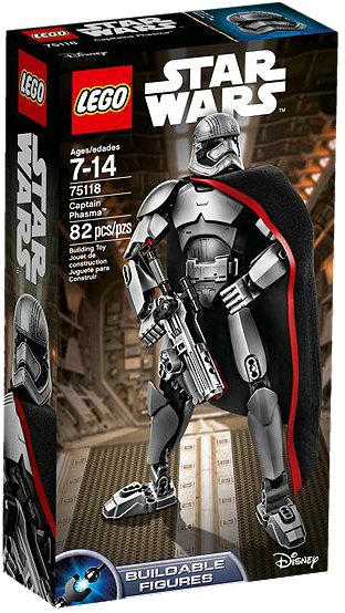 LEGO 75118 CAPTAIN PHASMA FIGURE STAR WARS
