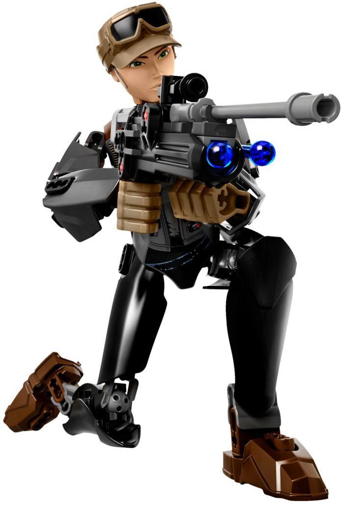 LEGO 75119 SERGEANT JYN ERSO FIGURE STAR WARS (Rogue One)