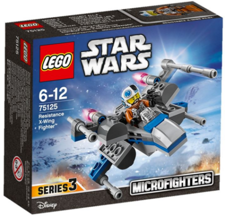 LEGO 75125 RESISTANCE X-WING FIGHTER STAR WARS ( The Force Awakens )