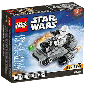 LEGO 75126 FIRST ORDER SNOWSPEEDER STAR WARS ( The Force Awakens )