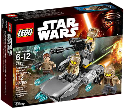 LEGO 75131 RESISTANCE TROOPER BATTLE PACK STAR WARS ( The Force Awakens )