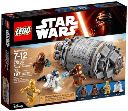 LEGO 75136 DROID ESCAPE POD STAR WARS